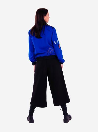alba soboni. Жіночий костюм з кюлотами L (202-006-01). Вид 3.