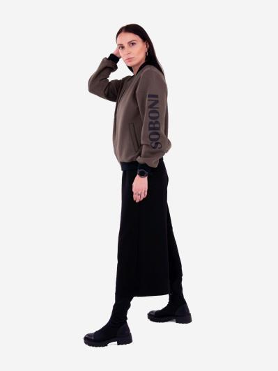 alba soboni. Жіночий костюм з кюлотами L (202-007-01). Вид 3.