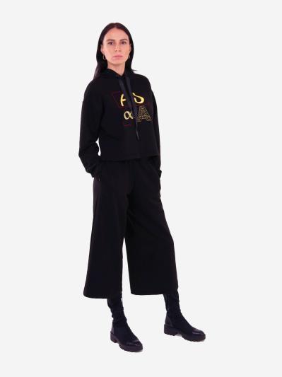 alba soboni. Женский костюм с кюлотами L черный (202-012-01). Вид 1.