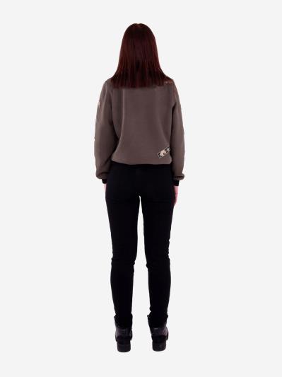 alba soboni. Жіночий костюм з брюками L (202-008-02). Вид 4.