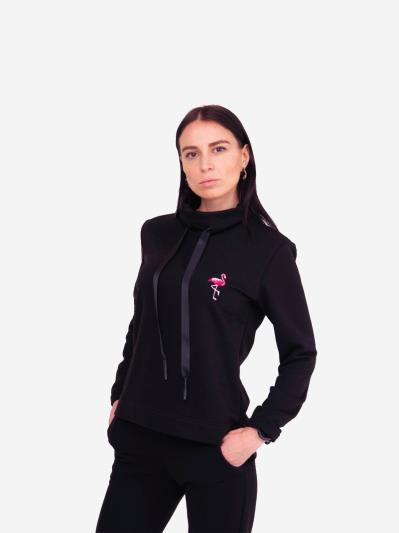 alba soboni. Жіночий костюм з брюками L чорний (202-017-02). Вид 2.