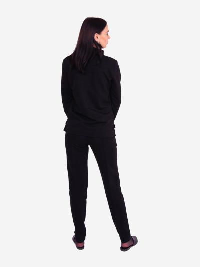 alba soboni. Жіночий костюм з брюками L чорний (202-017-02). Вид 3.