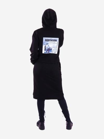 alba soboni. Жіночий костюм з юбкою L чорний (202-014-03). Вид 2.