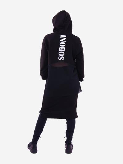 alba soboni. Жіночий костюм з юбкою L чорний (202-015-03). Вид 2.