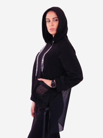 alba soboni. Жіночий костюм з юбкою L чорний (202-015-03). Вид 3.