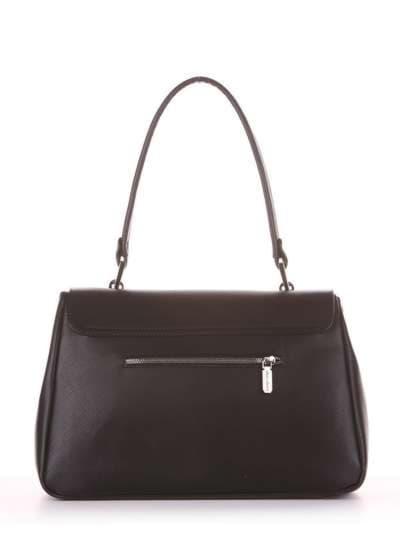 Молодежная сумка-портфель, модель 181531 черный. Фото товара, вид дополнительный.