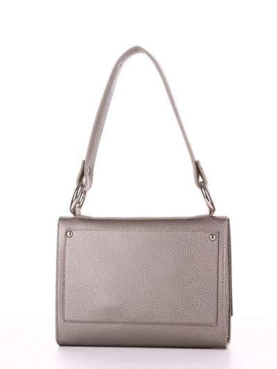 Брендовая сумка маленькая, модель E18027 оливковый. Фото товара, вид дополнительный.