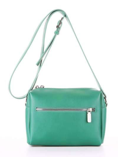 Модный клатч, модель E18045 зеленый. Фото товара, вид дополнительный.