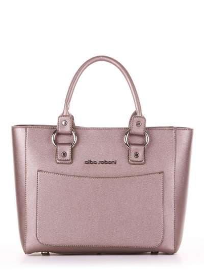 Модная сумка, модель 181723 бронза. Фото товара, вид спереди.