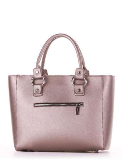 Модная сумка, модель 181723 бронза. Фото товара, вид дополнительный.