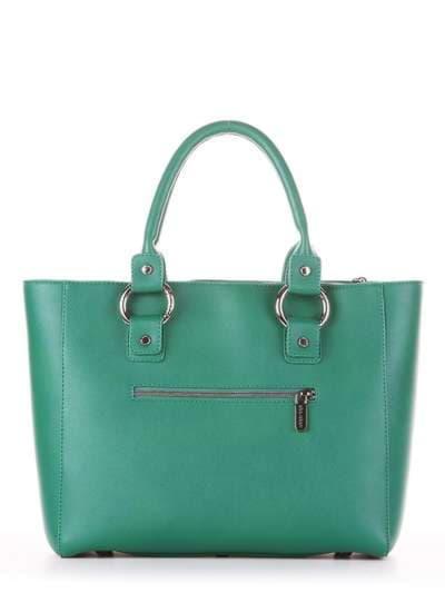Брендовая сумка, модель 181725 зеленый. Фото товара, вид дополнительный.