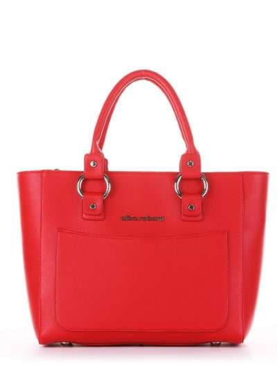 Брендовая сумка, модель 181726 красный. Фото товара, вид спереди._product-ru