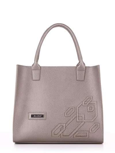 Брендовая сумка, модель E18007 оливковый. Фото товара, вид спереди.