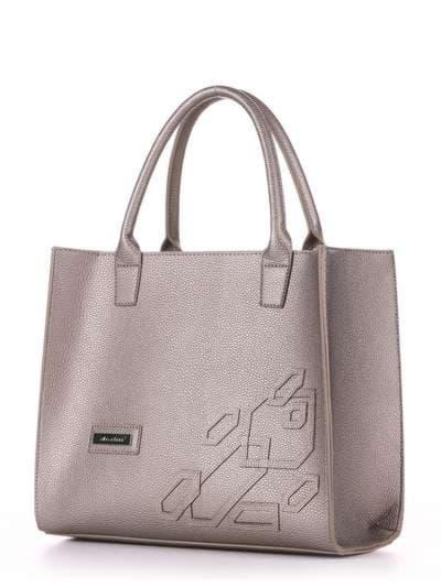 Брендовая сумка, модель E18007 оливковый. Фото товара, вид сзади.