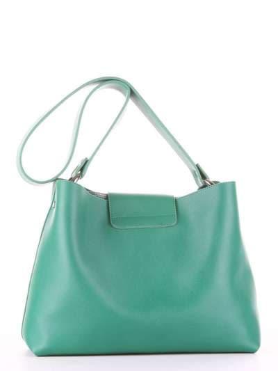 Брендовая сумка, модель E18035 зеленый. Фото товара, вид дополнительный.