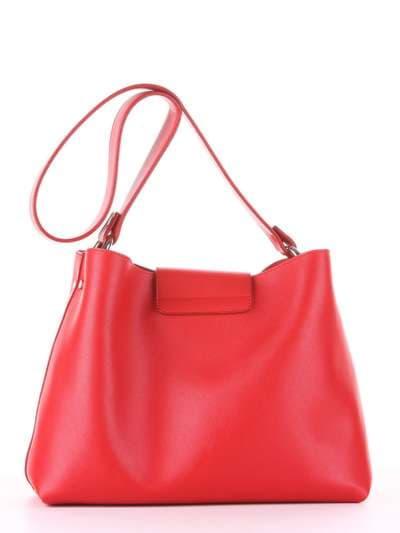 Стильная сумка, модель E18036 красный. Фото товара, вид дополнительный.