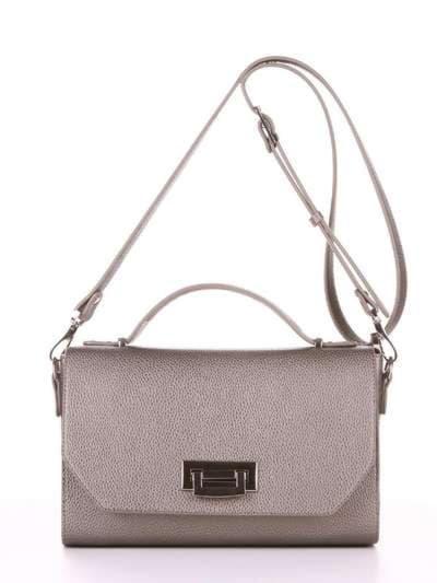 Брендовая деловая сумочка, модель E18017 оливковый. Фото товара, вид спереди.