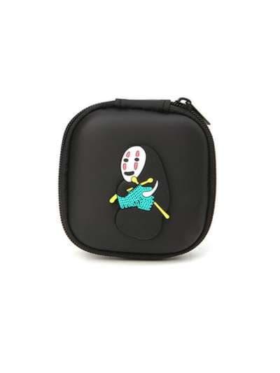 Модный брелок для наушников каонаси со спицами черный. Фото товара, вид 1_product-ru_product-ru