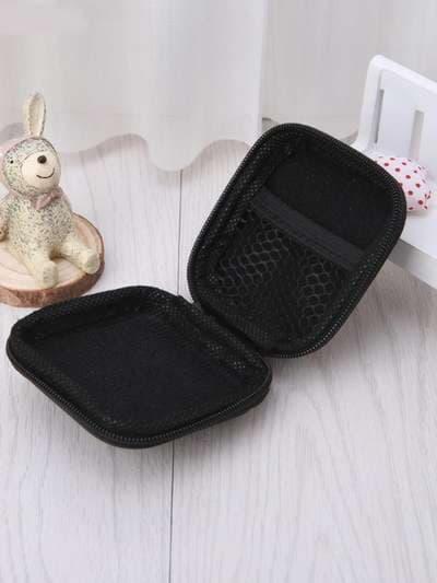 Модный брелок для наушников каонаси со спицами черный. Фото товара, вид 3