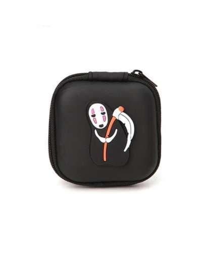 Стильный брелок для наушников каонаси с косой черный. Фото товара, вид 1_product-ru_product-ru