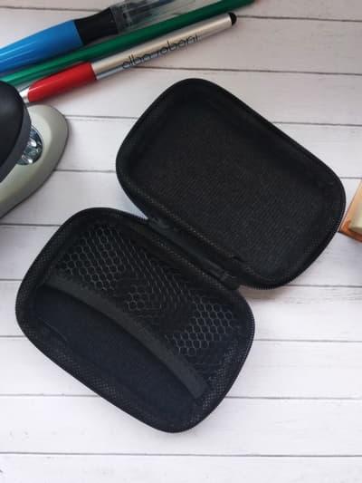 Модный чехол для наушников для наушников кумамон черный. Фото товара, вид 2