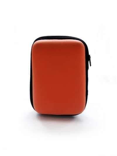 Молодежный чехол для наушников для наушников миньон оранжевый. Фото товара, вид 2