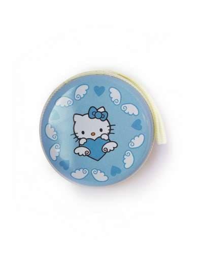 Брендовый чехол для наушников котенок голубой. Фото товара, вид 1