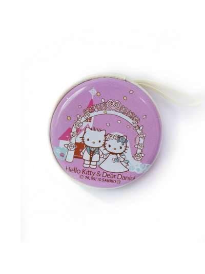 Молодежный чехол для наушников котенок сиреневый. Фото товара, вид 1