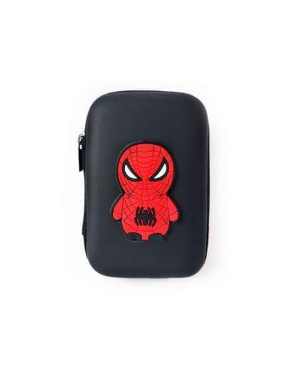 Стильный чехол для наушников паук черный. Фото товара, вид 1