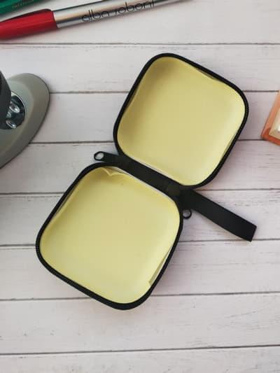 Молодіжний чохол для навушників кумамон чорний. Фото товару, вид 2