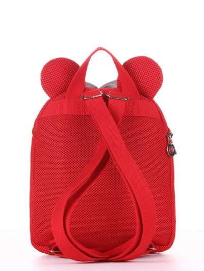 Молодежный рюкзак, модель 1903 красный. Фото товара, вид дополнительный.