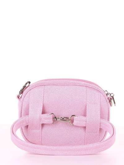Стильная сумочка на пояс, модель 1916 розовый. Фото товара, вид дополнительный.