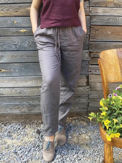 Фото товара: лляні штани
