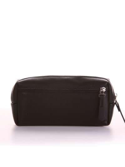 Молодежная косметичка, модель 521 черный. Фото товара, вид сзади.