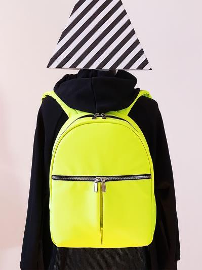 alba soboni. Рюкзак MAN-004-3 жовтий. Вид 1.