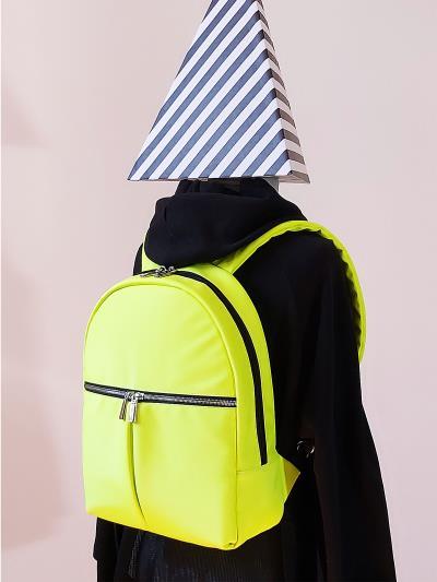 alba soboni. Рюкзак MAN-004-3 жовтий. Вид 3.