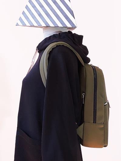 alba soboni. Рюкзак MAN-004-4 хакі. Вид 3.