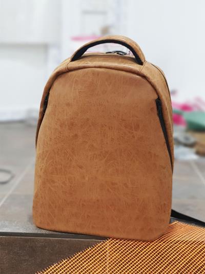 alba soboni. Рюкзак MAN-012-1 св. коричневий. Вид 1.