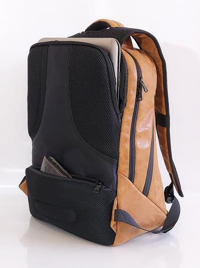 alba soboni. Рюкзак MAN-012-1 св. коричневий. Вид 4.