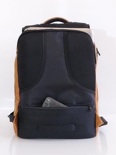 alba soboni. Рюкзак MAN-012-1 св. коричневий. Вид 5.