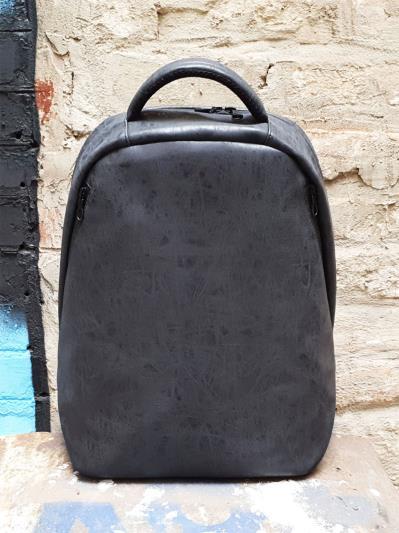 alba soboni. Рюкзак MAN-012-3 чорний. Вид 2.