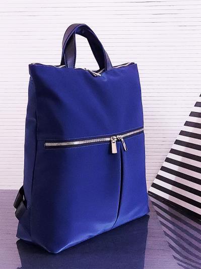 alba soboni. Сумка-рюкзак MAN-005-3 синий. Вид 2.