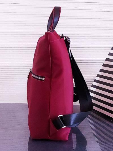 alba soboni. Сумка-рюкзак MAN-005-4 бордо. Вид 3.