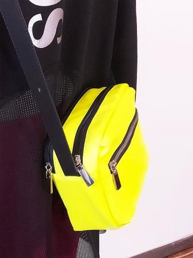 alba soboni. Сумка через плечо MAN-006-6 желтый. Вид 4.