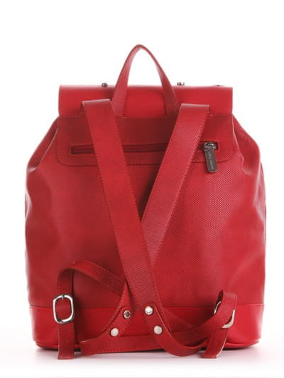 Стильний рюкзак, модель 191582 червоний. Фото товару, вид додатковий.