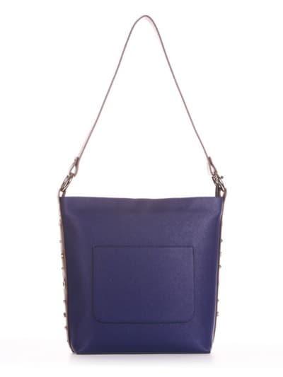 Шкільна сумка, модель 191693 синій. Фото товару, вид спереду.
