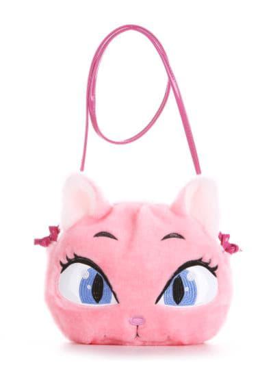 alba soboni. Дитяча сумка через плече 2052 рожевий. Вид 1.
