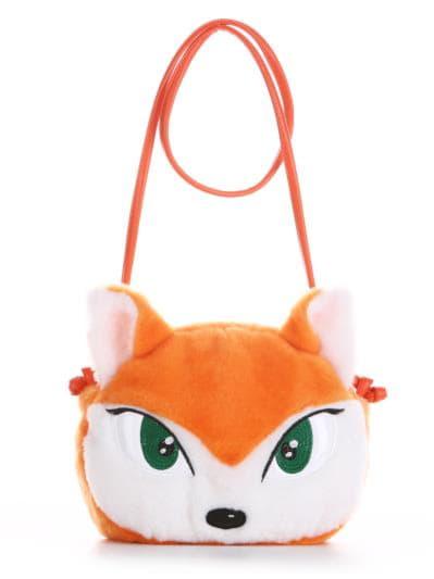alba soboni. Дитяча сумка через плече 2054 оранжевий. Вид 1.