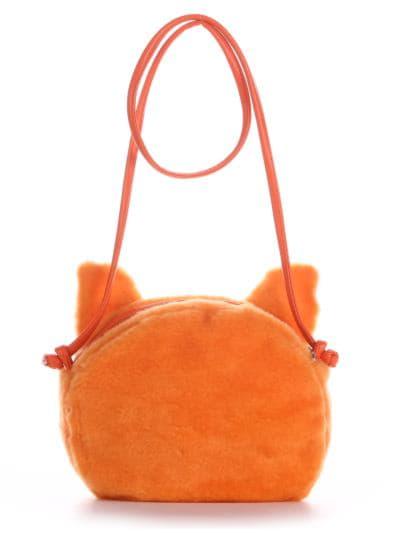 alba soboni. Дитяча сумка через плече 2054 оранжевий. Вид 3.
