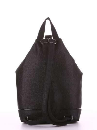 Модный рюкзак, модель 180022 черный. Фото товара, вид дополнительный.